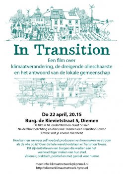 Infoavond & film over Transition Towns